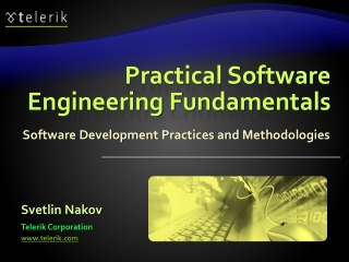 Software Engineering   The Software Process