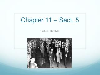 Chapter 11 – Sect. 5