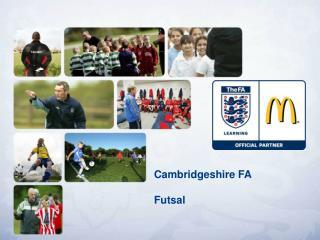 Cambridgeshire FA Futsal