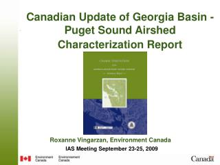Canadian Update of Georgia Basin - Puget Sound Airshed Characterization Report