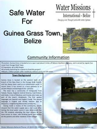 Guinea Grass Town, Belize