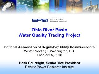 Ohio River Basin  Water Quality Trading  Project
