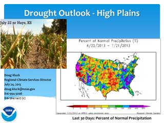 Drought Outlook - High Plains