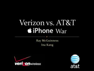 Verizon vs. AT&T                    War