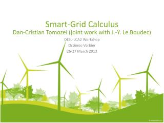 Smart- Grid Calculus