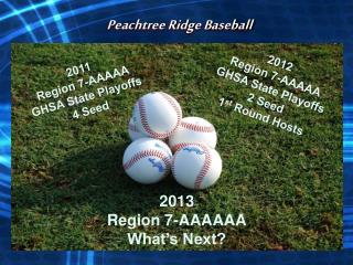Peachtree Ridge Baseball