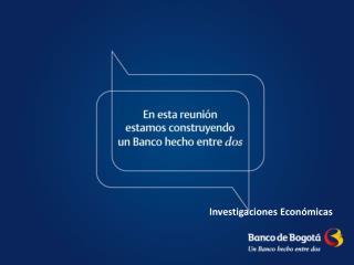 Perspectiva Macroeconómica  2012-2013: Más allá del fin del mundo