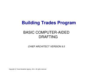 Building Trades Program