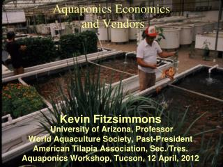Aquaponics  Economics  and Vendors