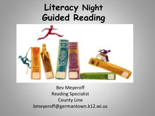 Literacy  Night Guided Reading