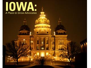 IOWA A Place to Grow Advocates