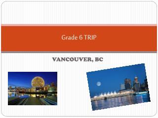 Grade 6 TRIP