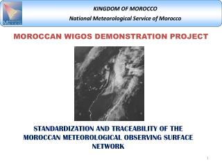 MOROCCAN WIGOS DEMONSTRATION PROJECT