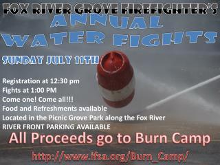 Fox River Grove Firefighter's