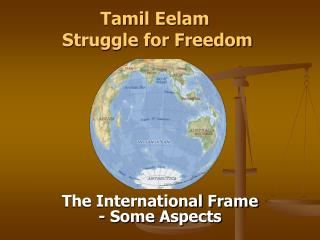 Tamil Eelam   Struggle for Freedom