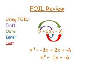 FOIL Review