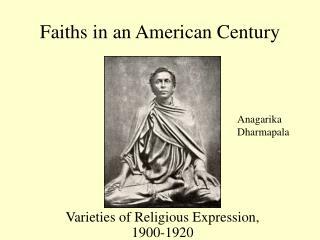 Faiths in an American Century