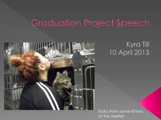 Graduation Project Speech