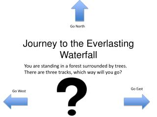 Journey to the  E verlasting Waterfall