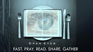 Fast. Pray. Read. Share. gather