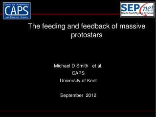 The  feeding and feedback of massive  protostars