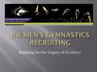 UW MEN'S Gymnastics Recruiting