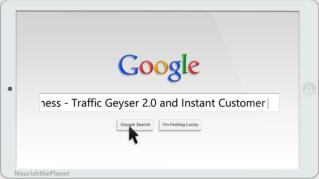 ppt 40589 Awesome Multimedia Tool for Your Green Business Traffic Geyser 2 0 and Instant Customer
