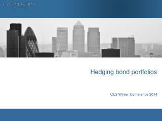 Hedging bond portfolios