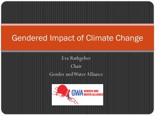 Gendered Impact of Climate Change