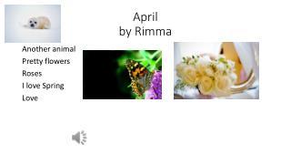 April  by Rimma