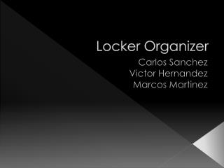 Locker Organizer