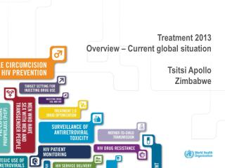 Treatment 2013 Overview – Current global situation Tsitsi  Apollo Z imbabwe