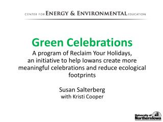 Green Celebrations