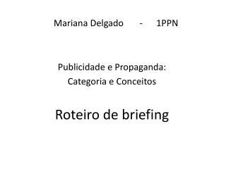 Mariana Delgado       -      1PPN
