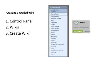 Creating a Graded Wiki