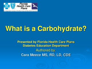 What is a Carbohydrate