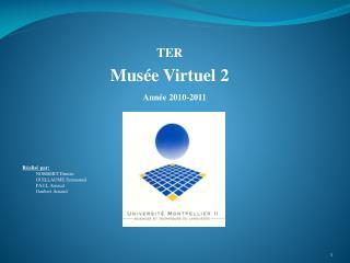 TER Musée Virtuel 2