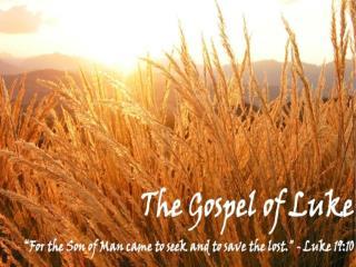 Jesus Calls Peter, James,& John (5:1-11)