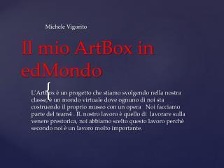 Il mio ArtBox in edMondo