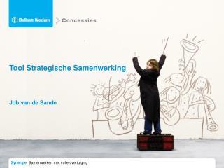 Tool Strategische Samenwerking Job van de Sande