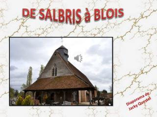 DE SALBRIS à BLOIS