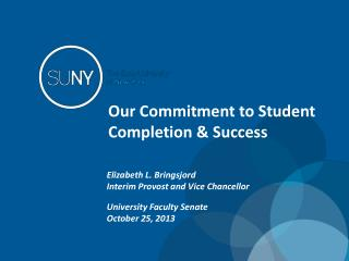 Our Commitment to Student Completion & Success