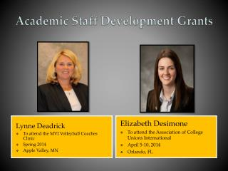 Academic Staff Development Grants