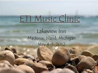 ETI Music Clinic