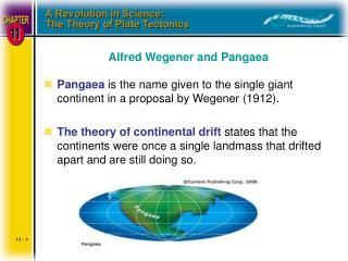 Alfred Wegener and Pangaea