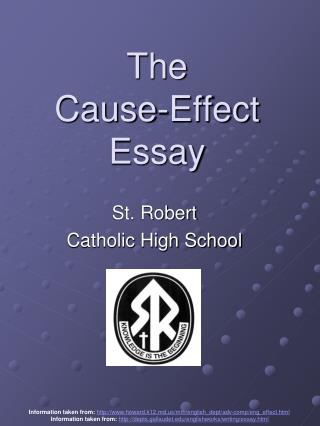 cause and effect essay for high school dropouts