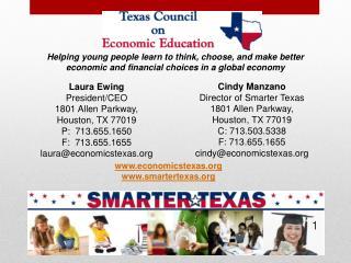 Laura Ewing President/CEO 1801 Allen Parkway,  Houston, TX 77019 P:  713.655.1650