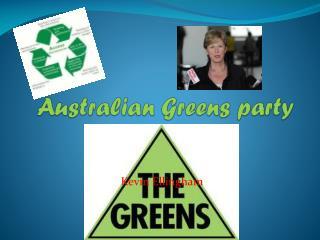 Australian Greens party