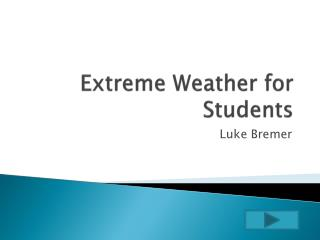 Extreme Weather for Students