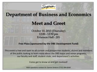 DBE meet and greet flyer 2013